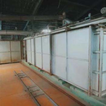 タイル焼成炉 75mトンネル窯